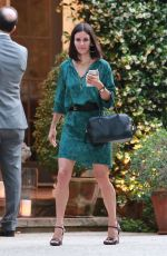 COURTNEY COX Out and About in Pacific Palisades 06/12/2015