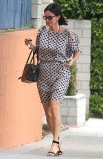 COUYRTNEY COX Out and About in Beverly Hills 06/08/2015