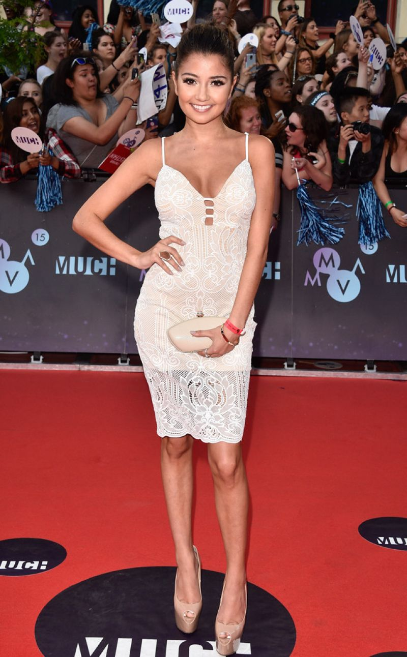 CRISTINE PROSPERI at 2015 MuchMusic Video Awards in Toronto