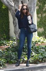 CRYSTAL REED Out and About in Los Angeles 06/03/2015