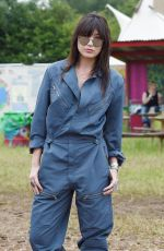 DAISY LOWE at 2015 Glastonbury Festival in Somerset 06/28/2015