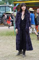 DAISY LOWE at 2015 Glastonbury Festival in Somerset