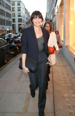 DAISY LOWE at Louis Vuitton Launch Party in London