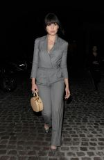 DAISY LOWE Leaves Chiltern Firehouse in London 06/11/2015