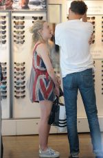 DAKOTA FANNING Out and About in Soho 06/13/2015