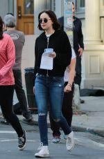 DAKOTA JOHNSON on the Set of How To Be Single in New York 05/26/2015