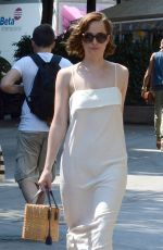 DAKOTA JOHNSON Out and About in Barcelona 06/30/2015