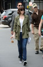DAKOTA JOHNSON Out and About in New York 06/17/2015