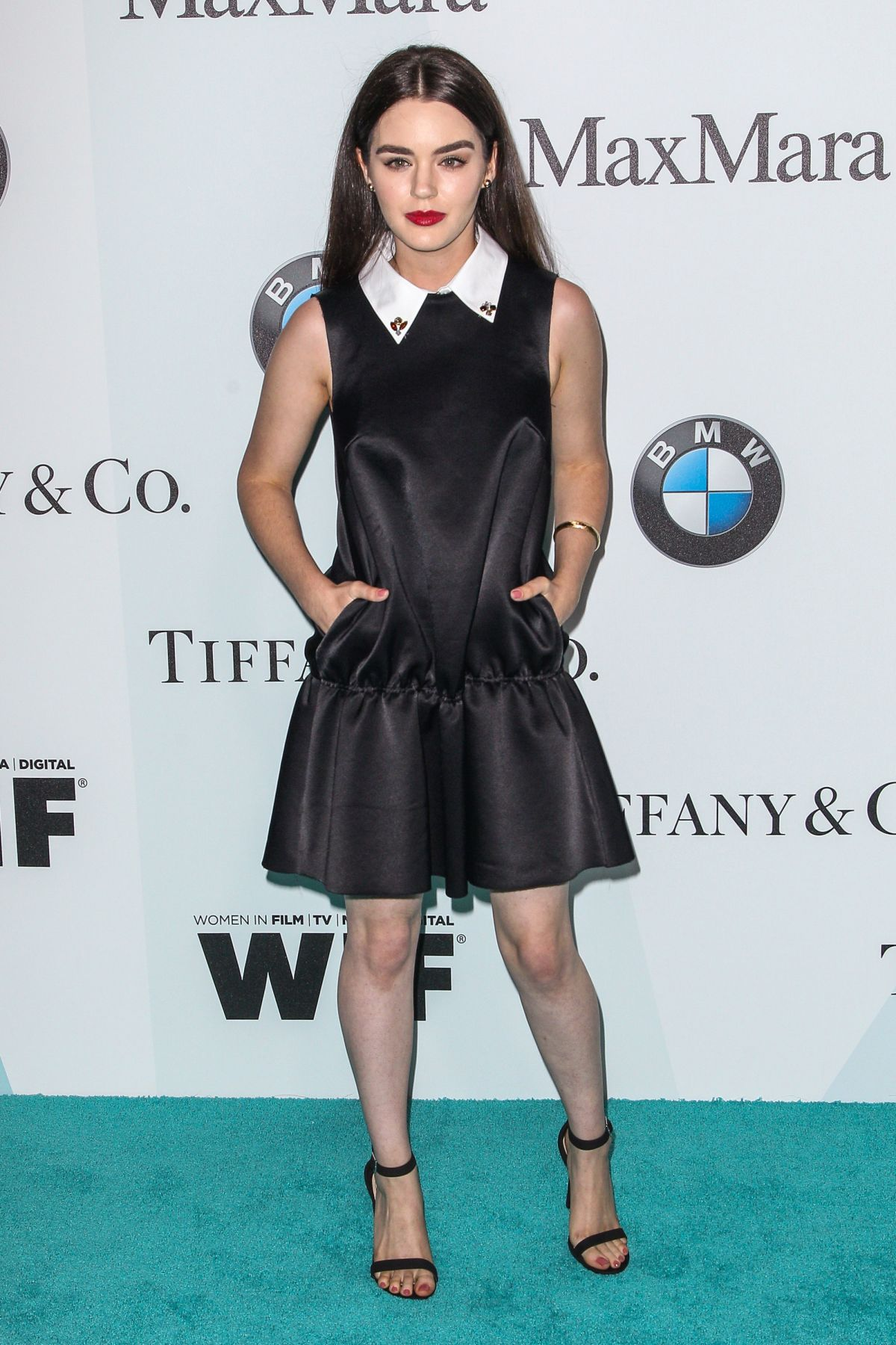 DANA MELANIE at Women in Film 2015 Crystal+Lucy Awards in Century City