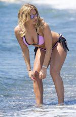 DANIELLE ARMSTRONG in Bikini at a Beach in Marbella 06/02/2015