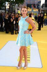 DANIELLE LLOYD at Minions Premiere in London