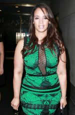 DASCHA POLANCO Arrives at Thoday Show in New York 06/29/2015