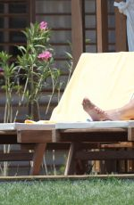 DAWN WARD in Bikini at a Beach in Turkey 06/17/2015