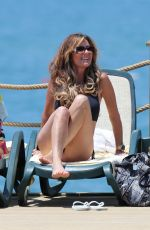 DAWN WARD in Bikini at a Beach in Turkey 06/17/2015
