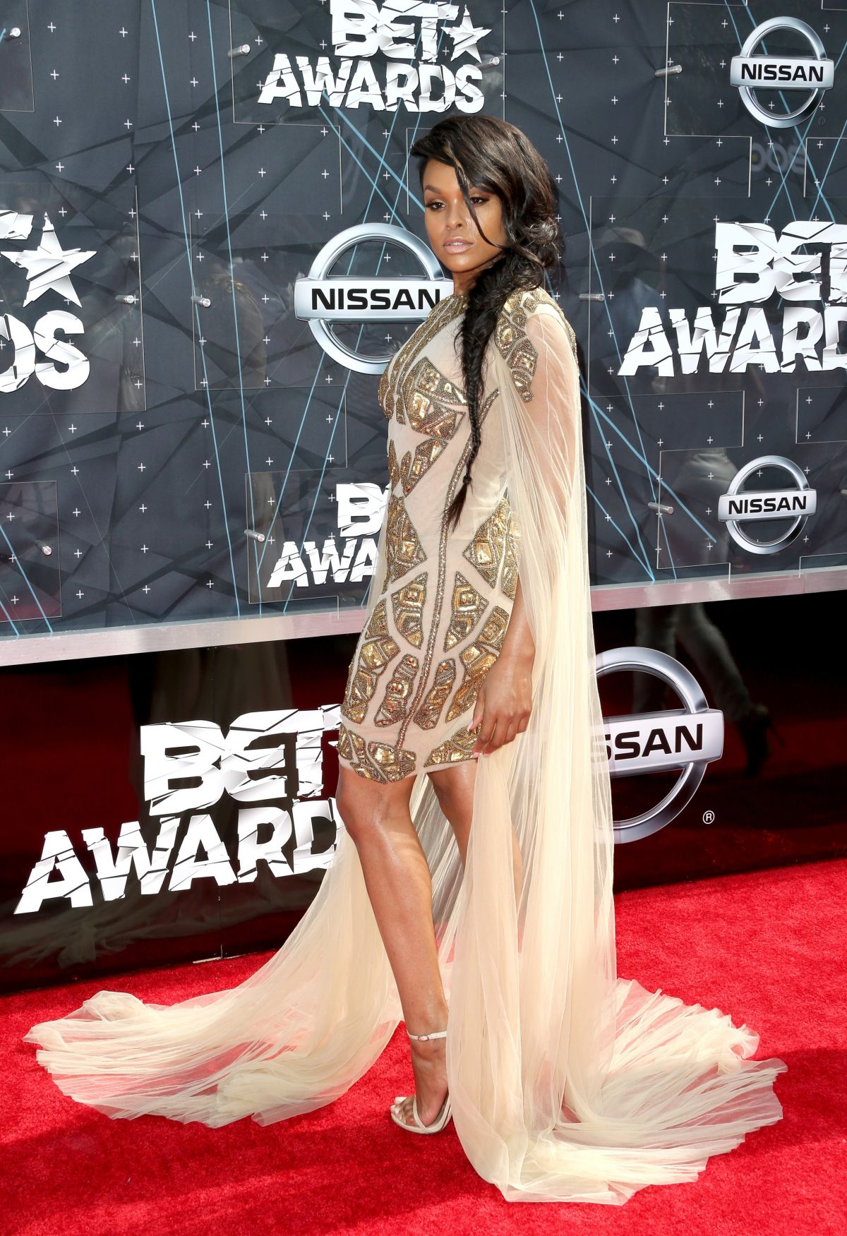 DEMETRIA MCKINNEY at 2015 BET Awards in Los Angeles