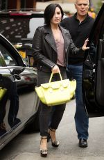 DEMI LOVATO Out and About in New York 06/05/2015