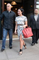 DEMI LOVATO Out and About in New York 06/06/2015
