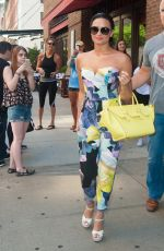 DEMI LOVATO Out and About in New York 06/25/2015