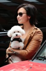DEMI LOVATO Out in and About in New York 06/04/2015
