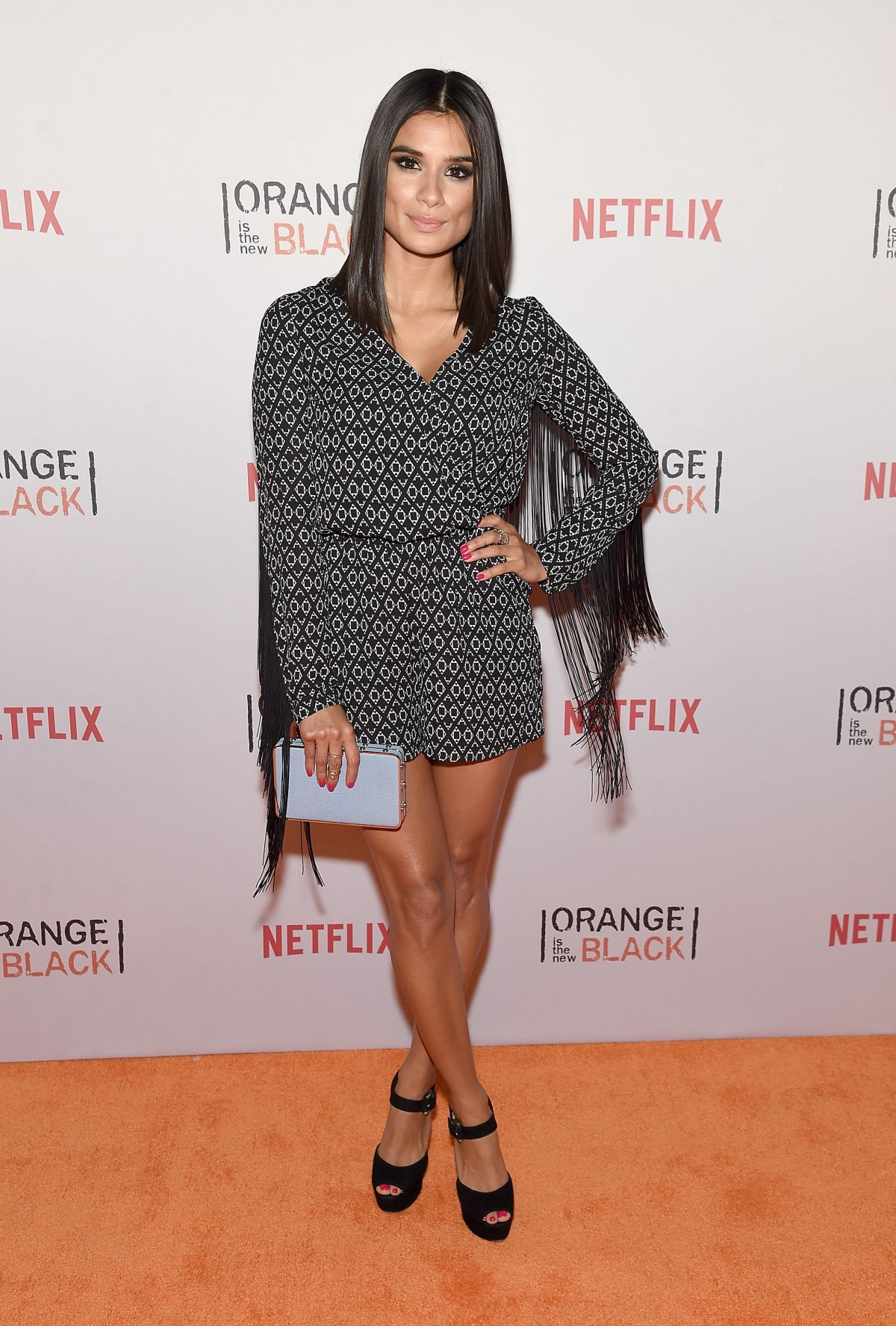 DIANE GUERRERO at Orangecon Fan Event in New York