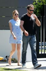 DIANE KRUGER and Joshua Jackson Out and About in Los Angeles 05/29/2015