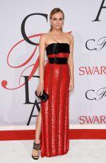 DIANE KRUGER at CFDA Fashion Awards 2015 in New York