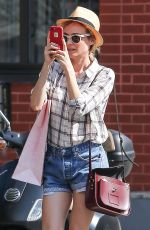 DIANE KRUGER in Jeans Shorts Out in New York 06/09/2015
