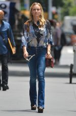DIANE KRUGER Out and About in New York 06/08/2015