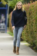 DIANE KRUGER Out and About in West Hollywood 06/03/2015