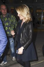 DIANNA AGRON Leaves St. James Theatre in London 06/19/2015