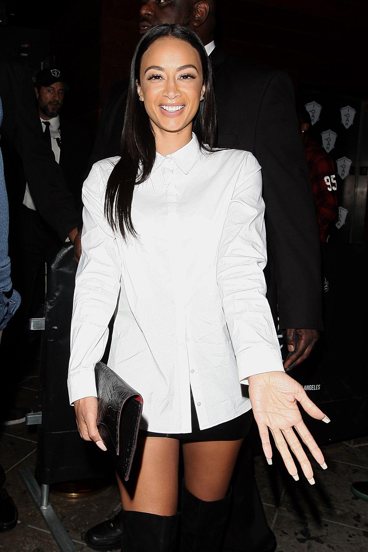 DRAYA MICHELE at 1Oak Nightclub in Los Angeles 06/09/2015 ...