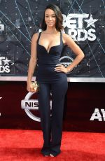 DRAYA MICHELE at 2015 BET Awards in Los Angeles