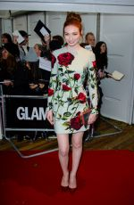 ELEANOR TOMLINSON at Glamour Women of the Year Awards in London