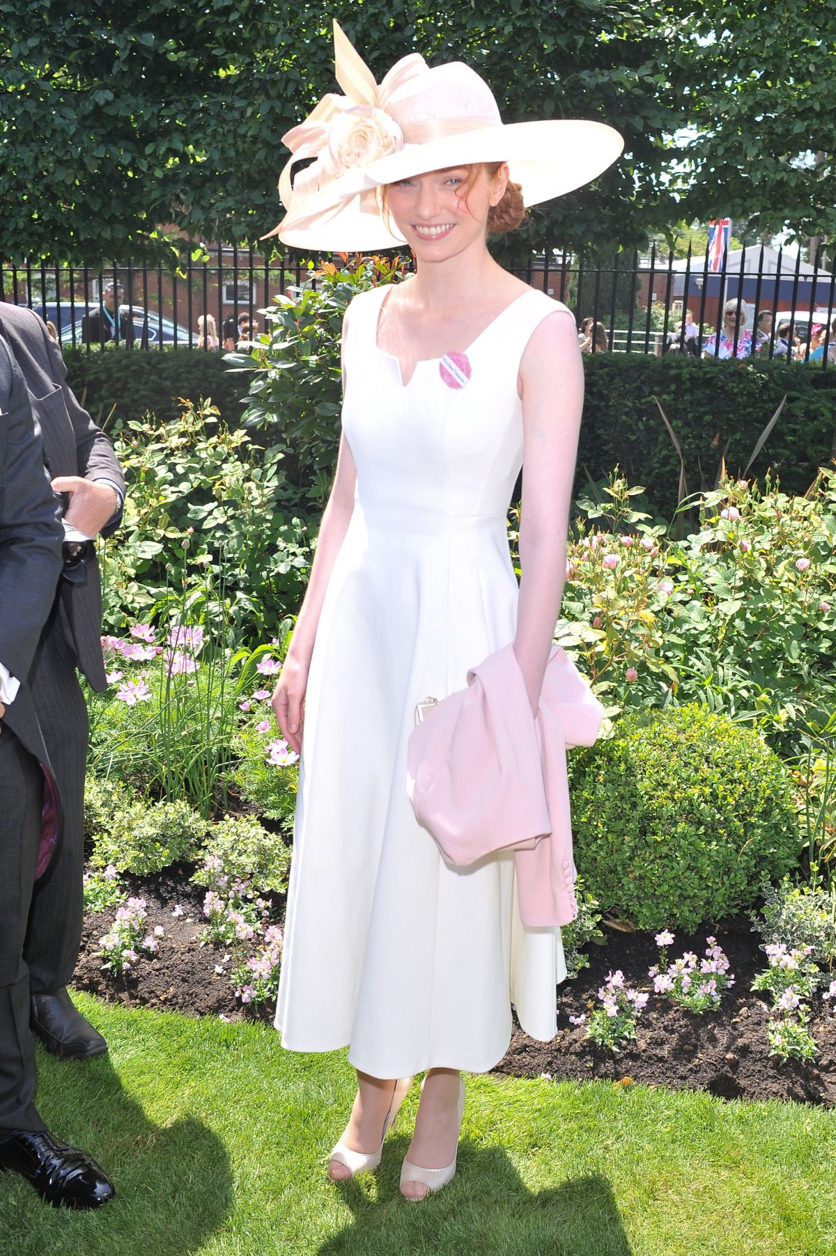 ELEANOR TOMLINSON at Royal Ascot 2015 Ladies Day in Berkshire