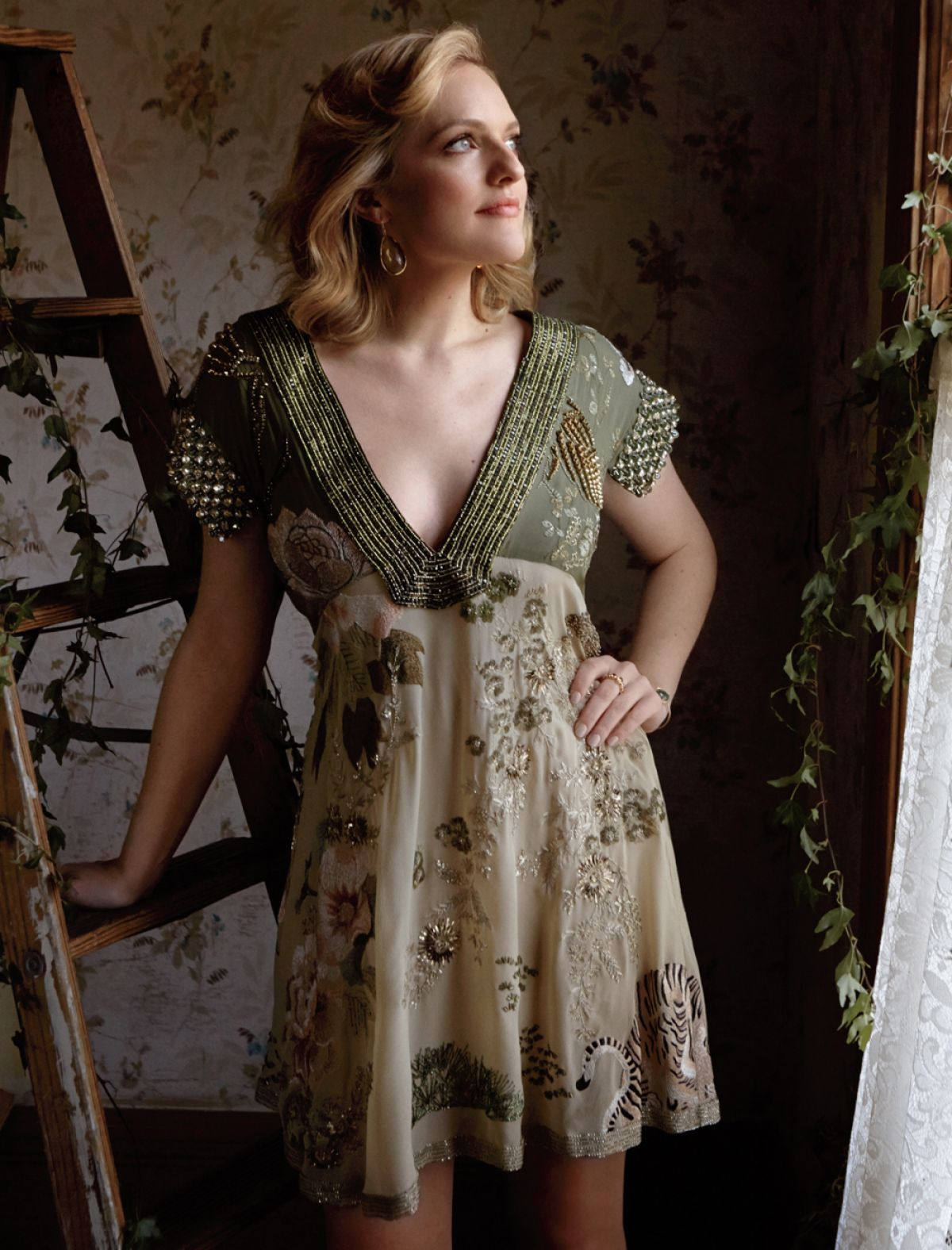 ELISABETH MOSS - Los Angeles Magazine Photoshoot
