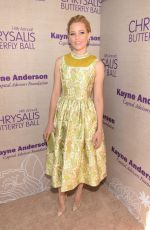 ELIZABETH BANKS at 14th Annual Chrysalis Butterfly Ball