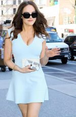 ELIZABETH GILLIES Out and About in New York 06/22/2015