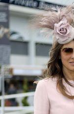 ELIZABETH HURLEY at 2015 Investec Derby Festival at Epsom Racecourse