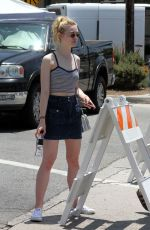 elle fanning - out and about in la, 5/31/15