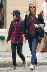 ELLEN PAGE Out and About in Soho 06/20/2015