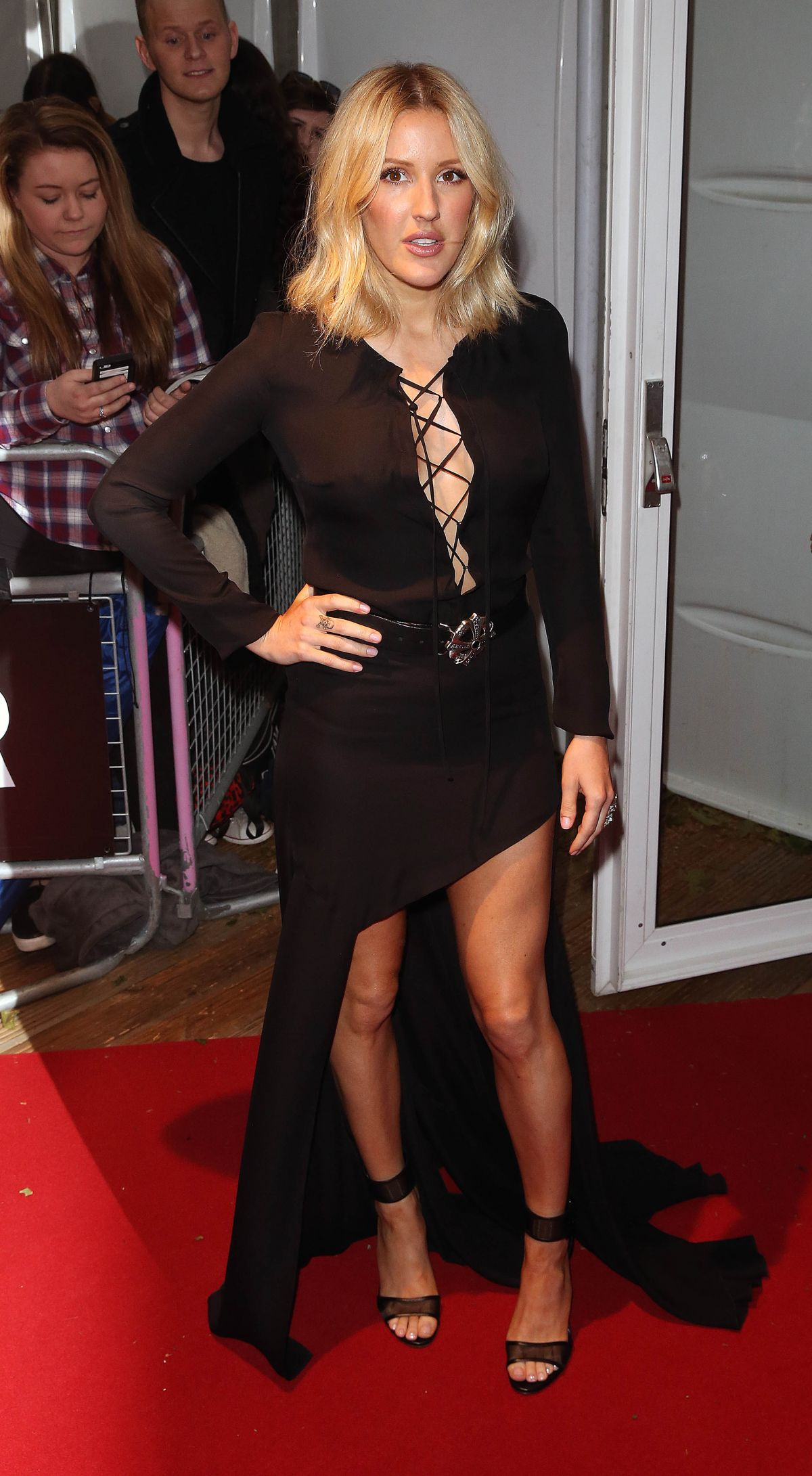 ELLIE GOULDING at Glamour Women of the Year Awards in London