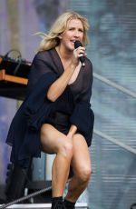 ELLIE GOULDING Performs at British Summer Time Festival in London