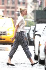 ELSA HOSK Out and About in New York 06/27/2015