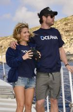 ELSA PATAKY and Chris Hemsworth at Oceana Documentary of Previously Unexplored Depths off the Maltese Coast 06/24/2015