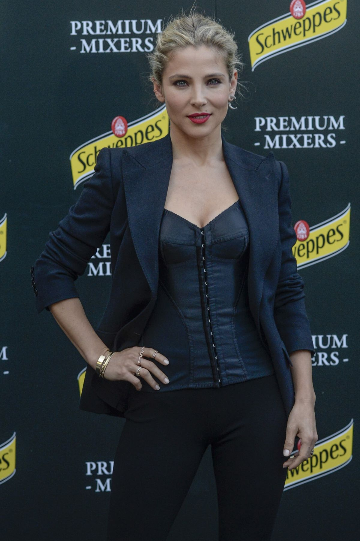 ELSA PATAKY at New Hibiscus by Schweppes Launch in Madrid