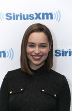 EMILIA CLARKE at SiriusXM Studios in New York 06/24/2015