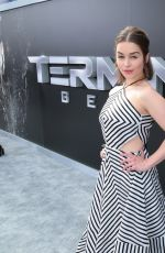 EMILIA CLARKE at Terminator: Genisys Premiere in Hollywood