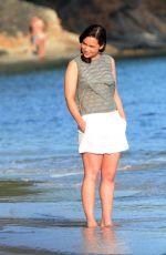 EMILIA CLARKE in Bikini on the Set of Me Before You in Majorca 06/12/2015