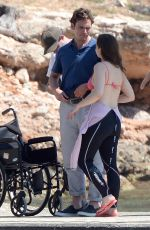 EMILIA CLARKE on the Set of Me Before You in Spain 06/09/2015