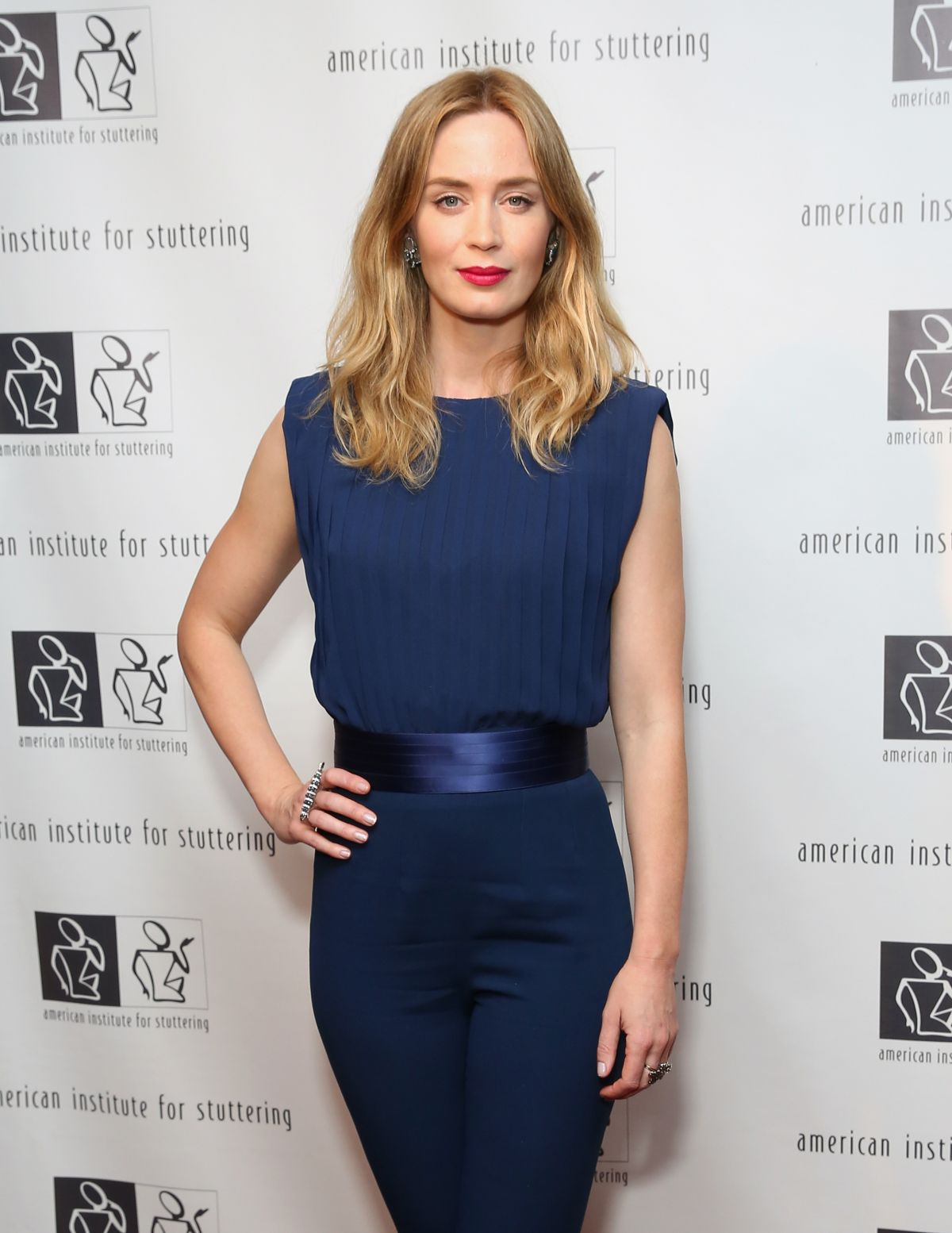 EMILY BLUNT at AIS Freeing Voices Changing Lives 9th Annual Benefit Gala in New York
